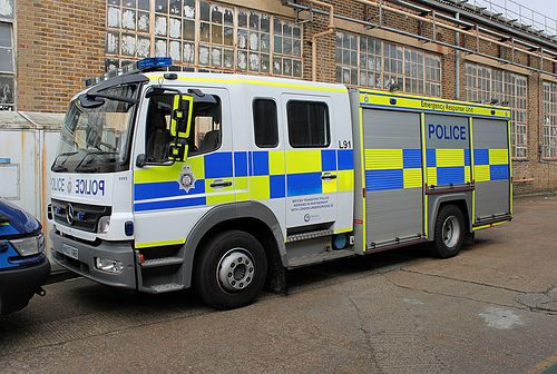 Mercedes atego network rail emergency response operated for Mercedes benz emergency