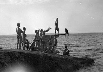 Rauhaniemi beach 1934