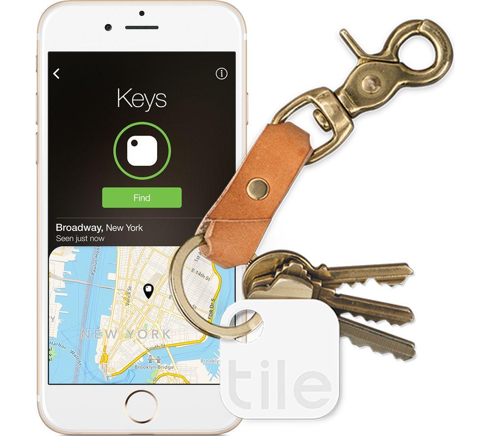 Tile Keyfinder Gen 2 Bluetooth Tracker White