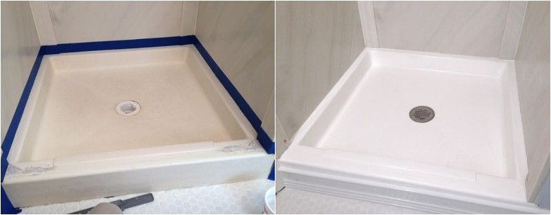 Yes You Can Paint A Tub Or Shower Fiberglass Shower Pan