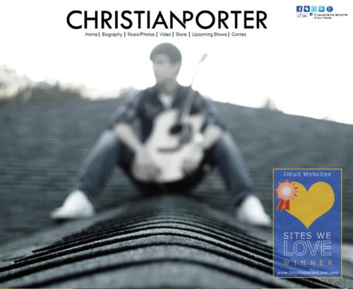 CHRISTIAN PORTER MUSIC - Winner 12/01/2011