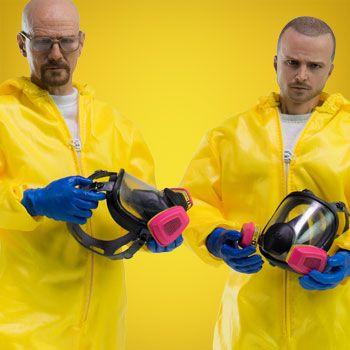 Breaking Bad Sixth Scale Figures - Heisenberg Jesse Hazmat Suit Combo