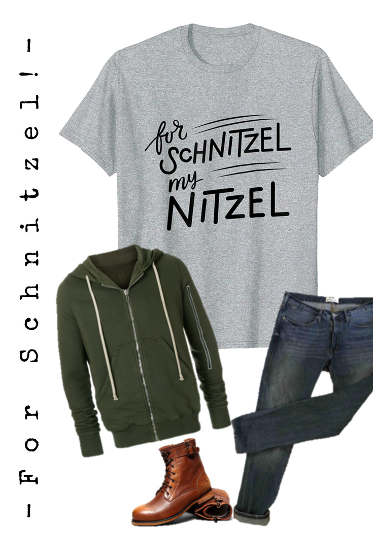13378e62c For schnitzel my nitzel. This is the perfect punny shirt for Oktoberfest or  any pun
