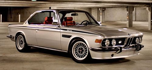Bmw 3.0 Csl >> Bmw E9 Coupe 3 0csl Silver Alpina Wheels Rims Stance Bmw E9 Bmw