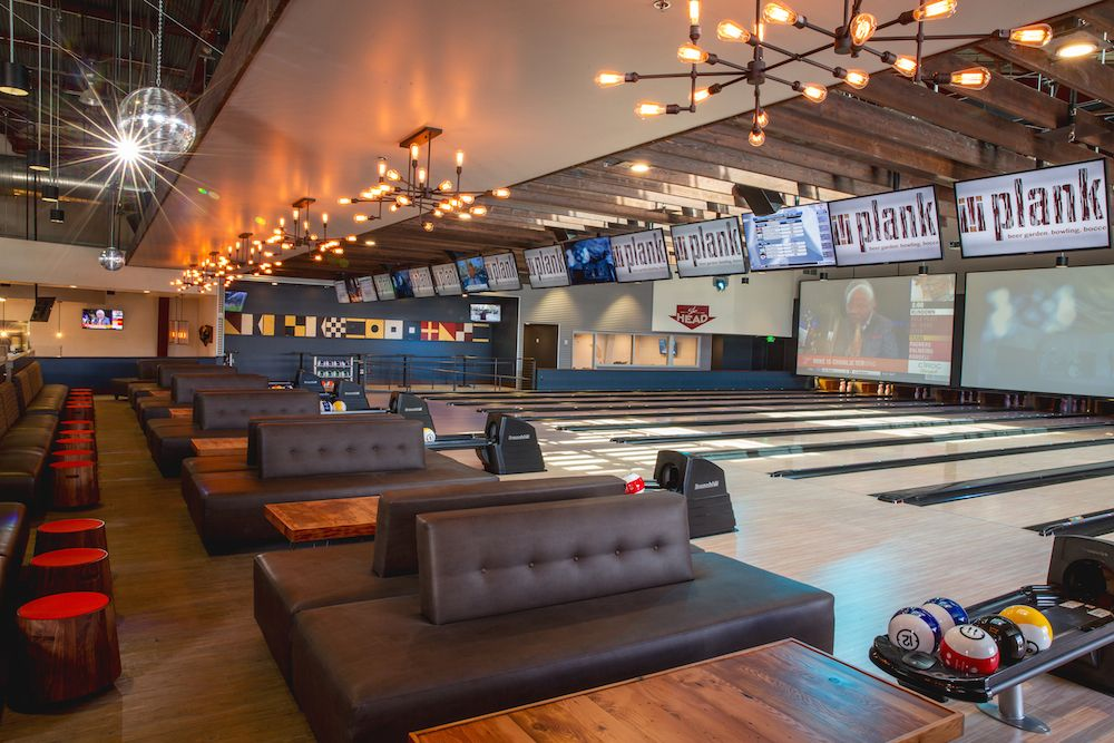 Plank Beer Garden. Bowling. Bocce. Indoor bowling