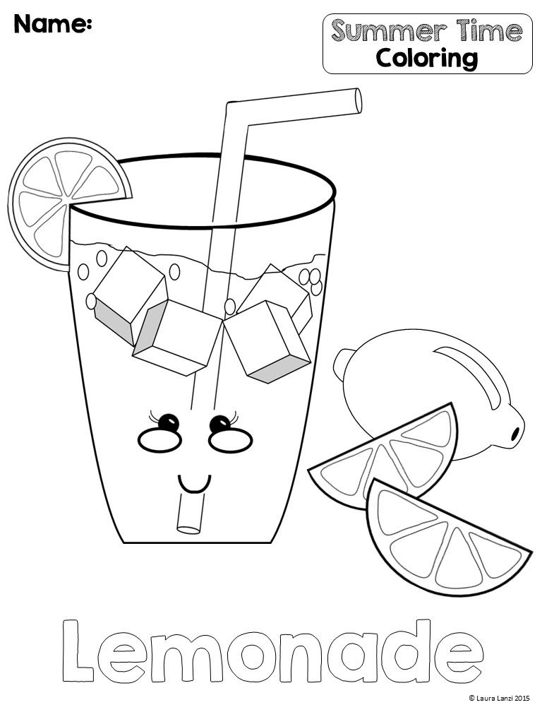end of summer coloring pages - photo#12