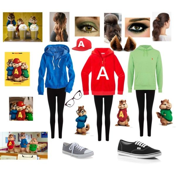 alvin and the chipmunks halloween costume things to wear pinterest fasnacht kost m und. Black Bedroom Furniture Sets. Home Design Ideas