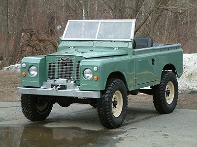 Image result for light green land rover series | Series Land Rover