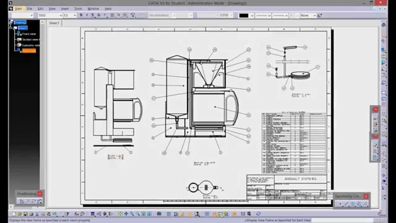 CATIA V5 DRAFTING TUTORIAL PDF DOWNLOAD