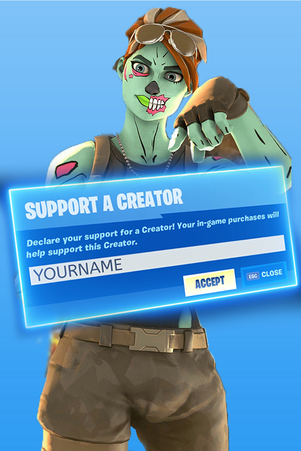 Make a creator code intro similar to mongraal intro in