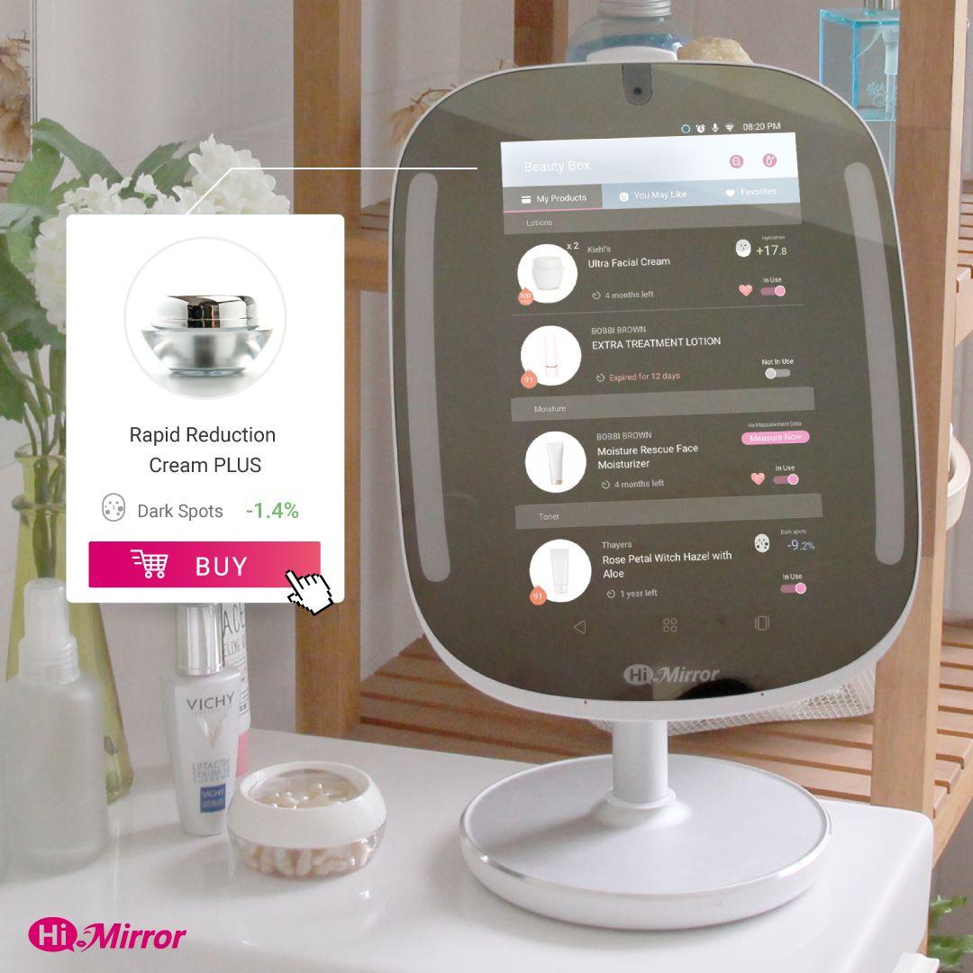 HiMirror Mini|FREE Returns |Smart Vanity Mirror Beauty
