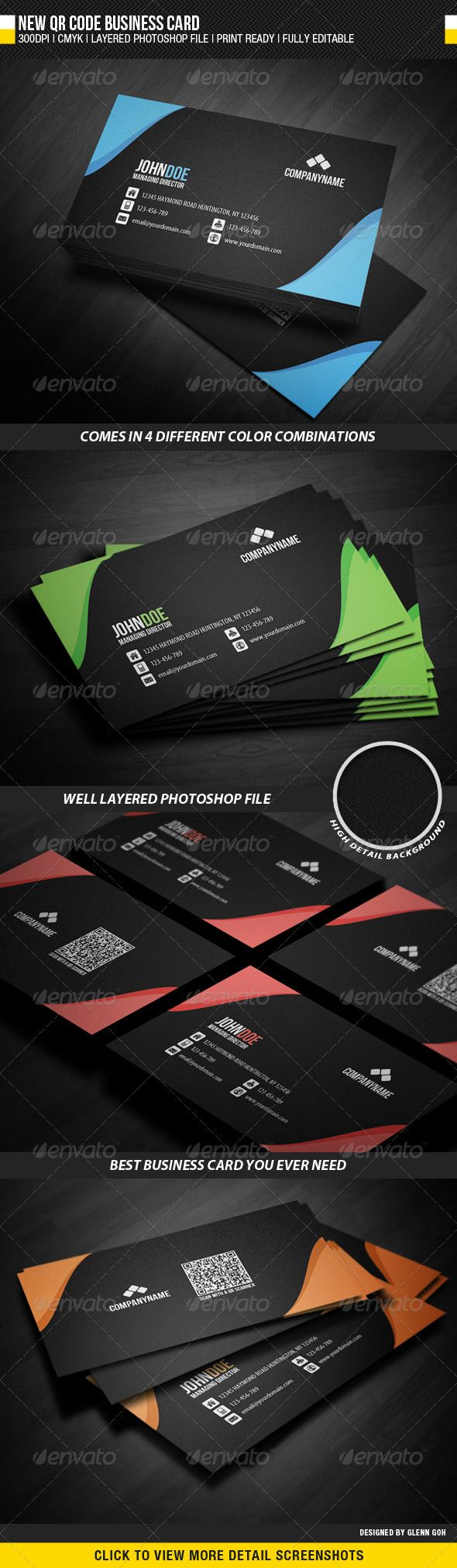 New Qr Code Business Card Qr Codes Business Cards And Business