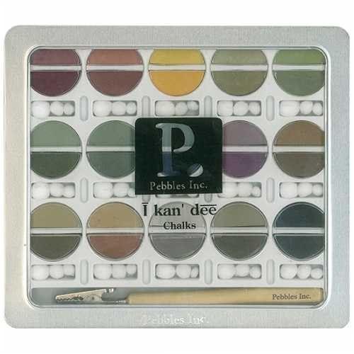 Pebbles Inc. I Kan'dee Chalk Set, Earth Tones PEBBLES INC. http://www.amazon.com/dp/B000MAPIX2/ref=cm_sw_r_pi_dp_zMm5vb0WFYK2K