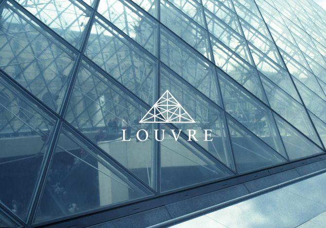 rebranding louvre