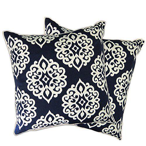 Lush Decor Sophie Zipper Throw Pillow Shell Set Of Ping Great Deals On Pillows