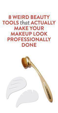 8 seltsame BeautyTools die Ihr Makeup professionell aussehen lassen  aussehen