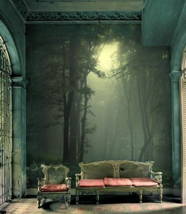 Bringen Sie die Kunst nach Hause durch tolle Wandgestaltung - wandgestaltung gothic