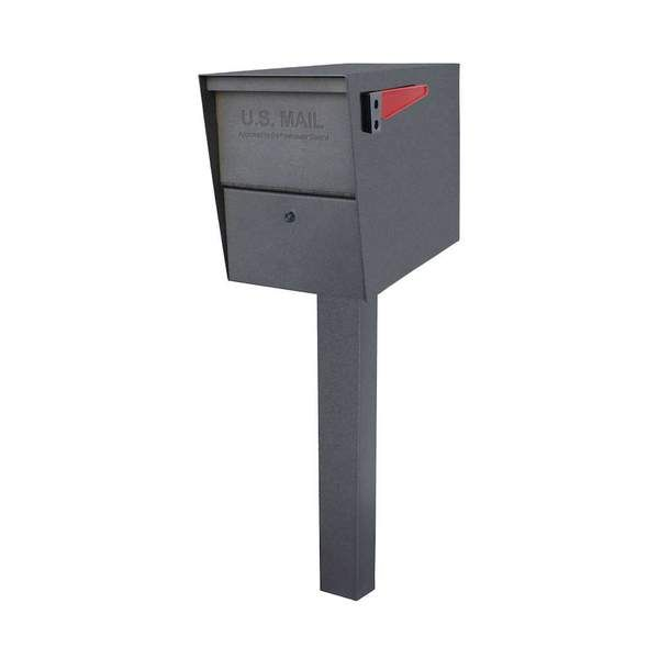 Mail Boss Package Master Locking Mailbox Post Package in