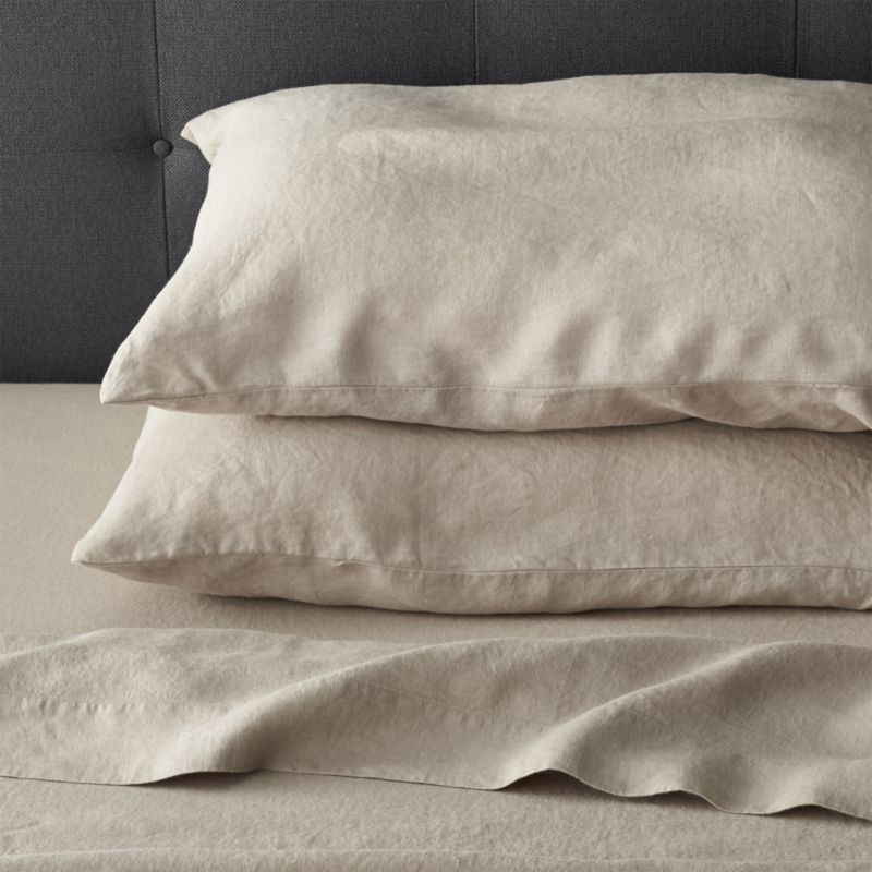 100 Flax Linen Bed Sheets