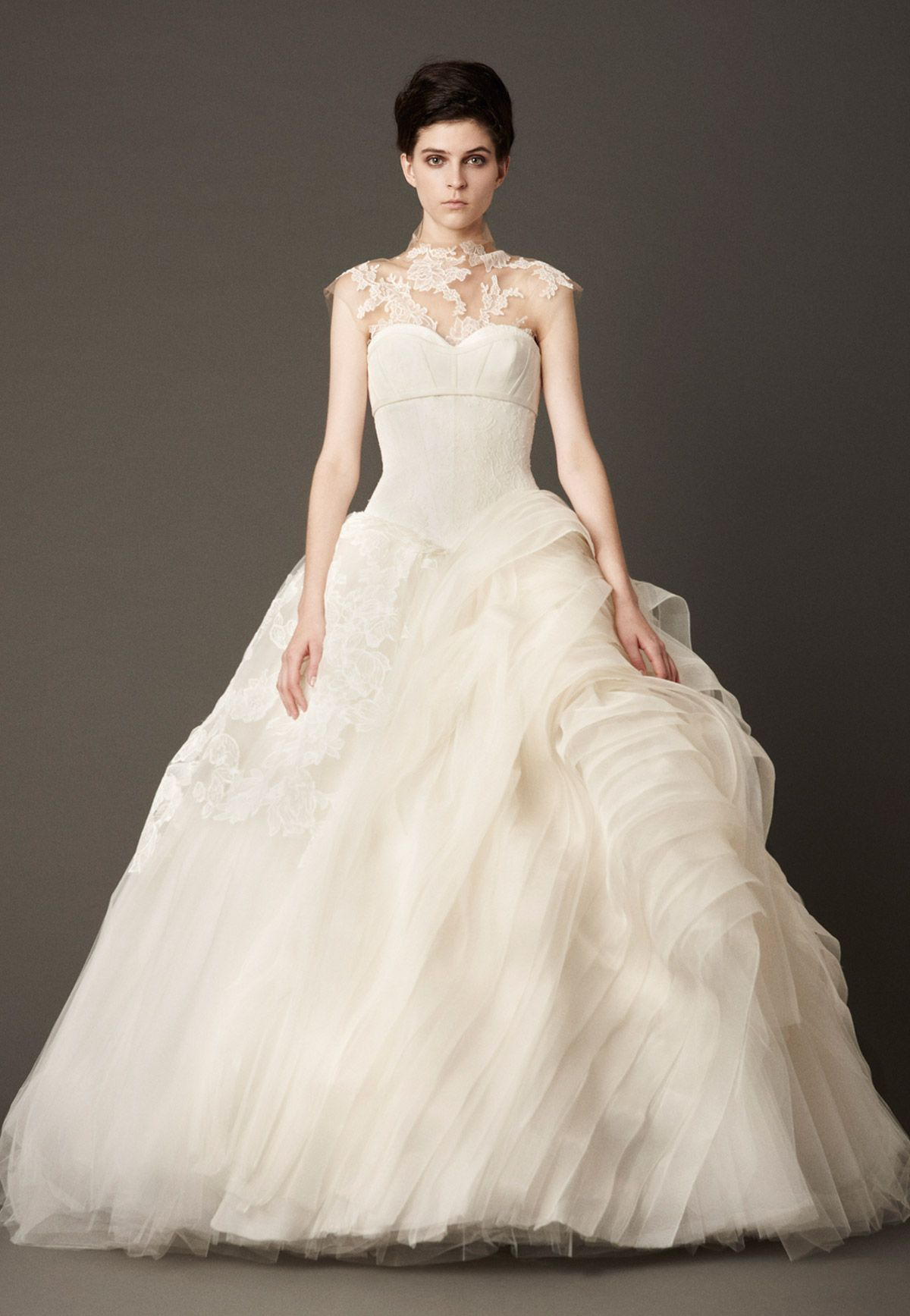 my wedding dress is strapless can they add a turtleneck to it