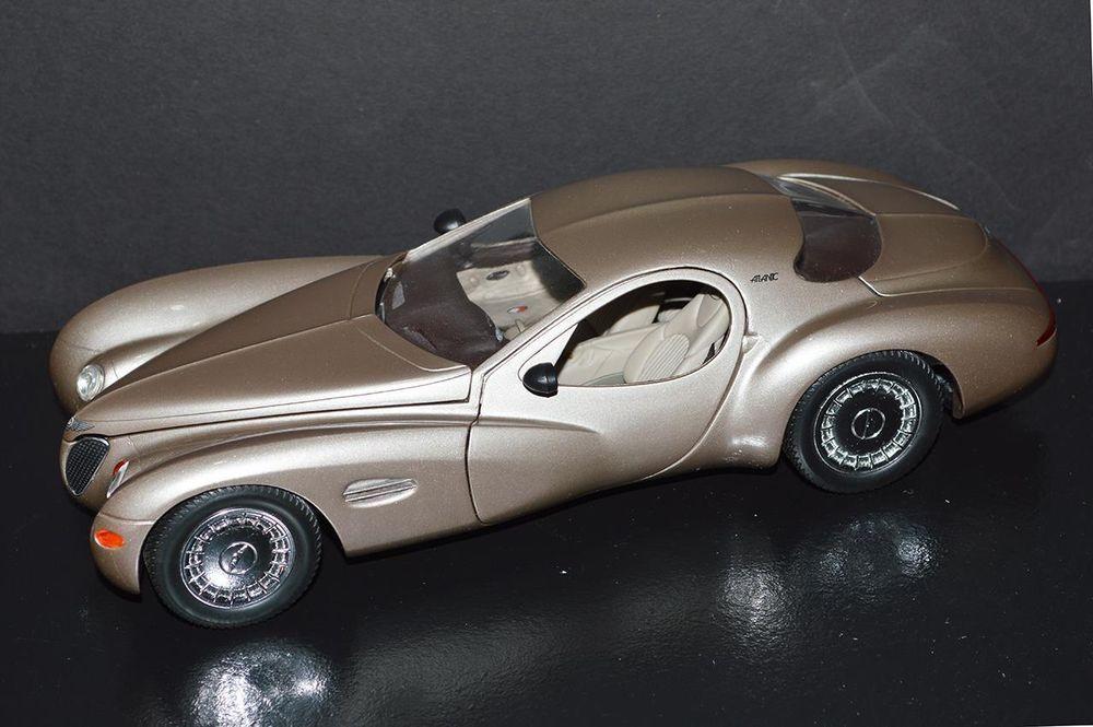 Guiloy Top Line Chrysler Atlantic 1/18 Bronze Die Cast Car #68570B ...