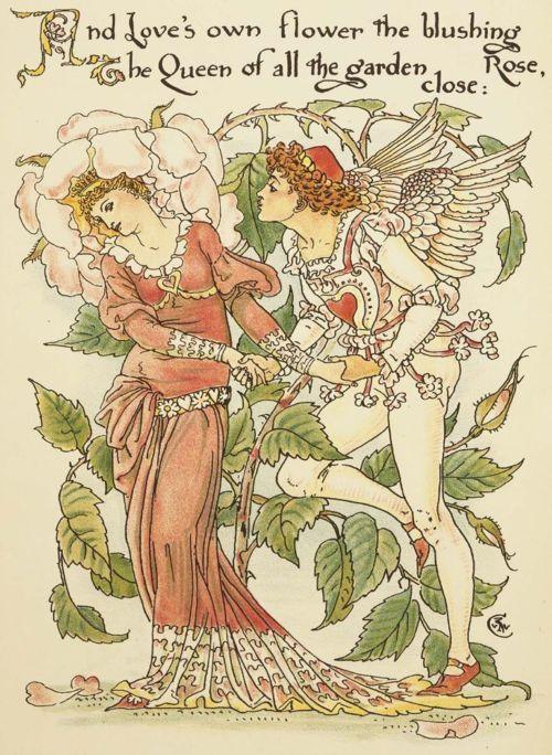 Walter Crane, Flora's Feast A masque of flowers, 1889