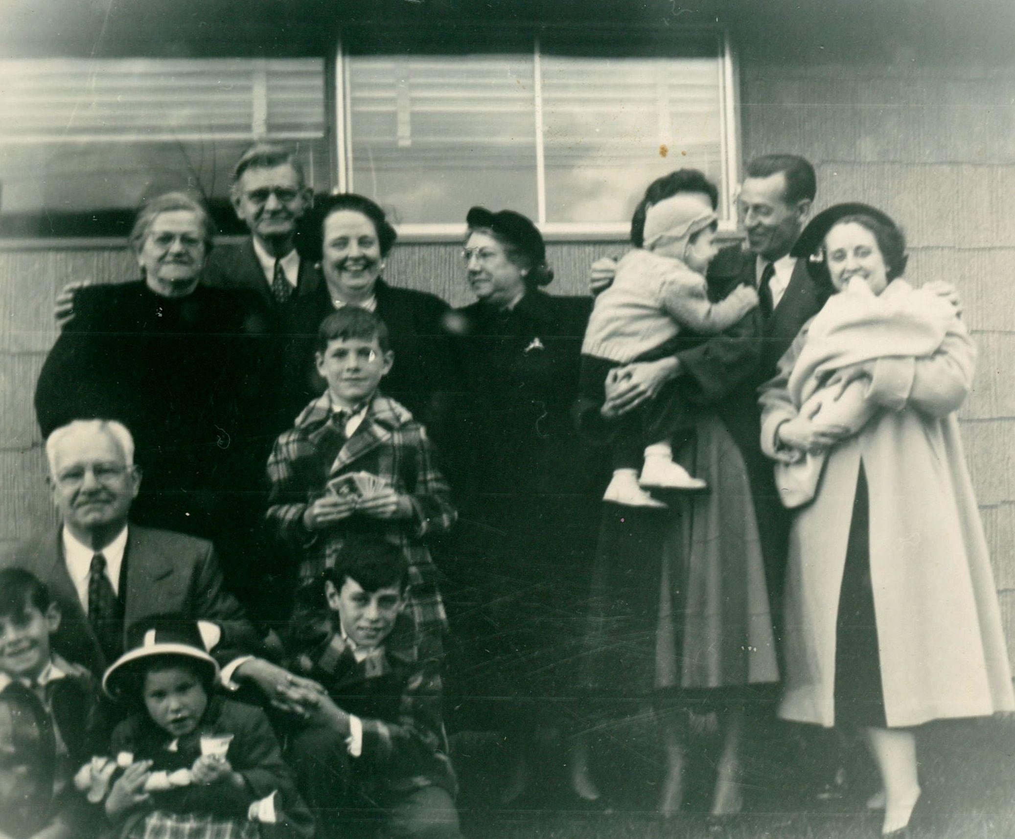 Rober'ts Christening, 11 4 1951