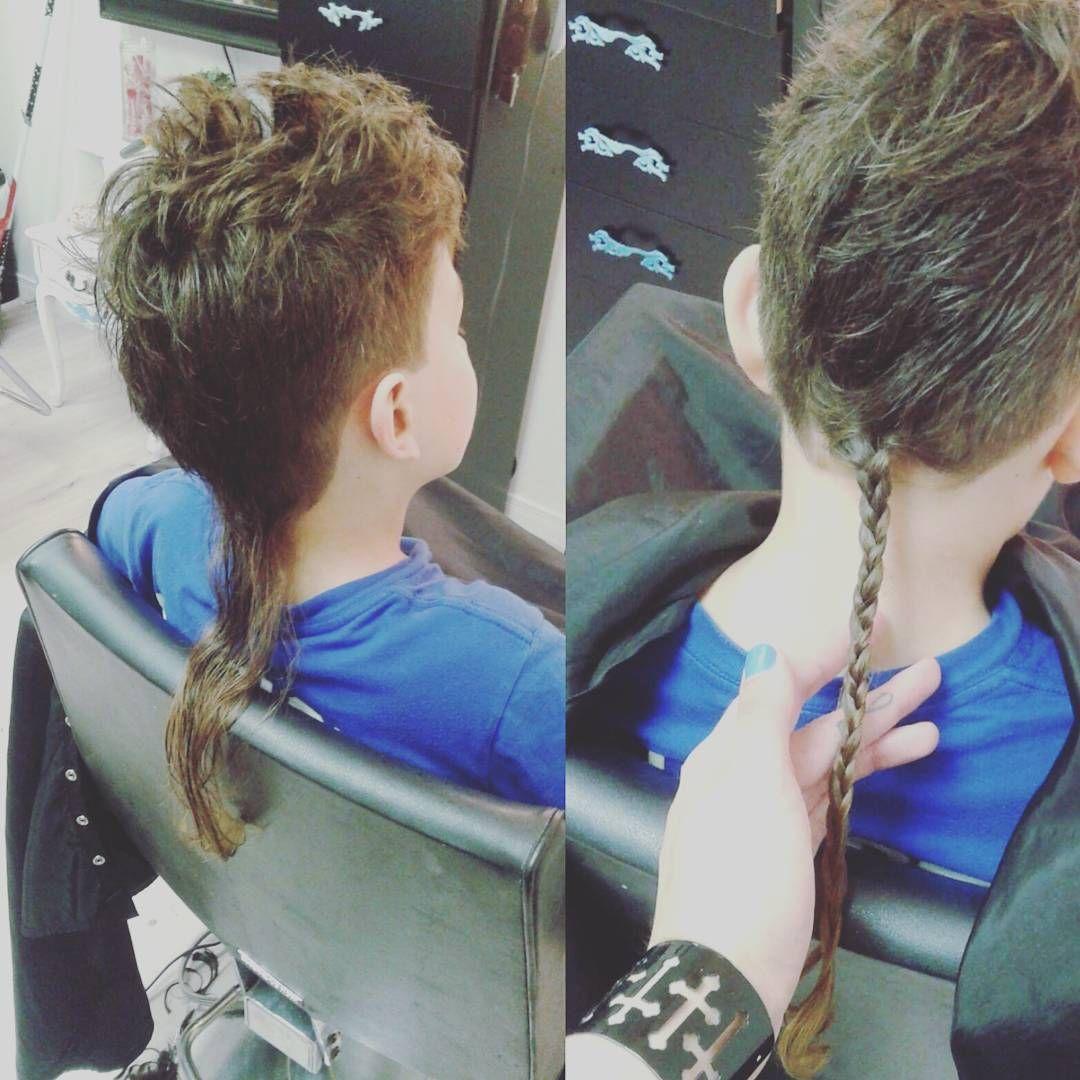 rattail #braidedrattail #rattailboy rattail braid  Boys haircuts