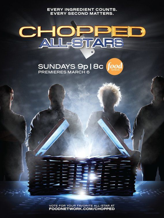 Chopped (tv) | TV Posters | Food network recipes, Food