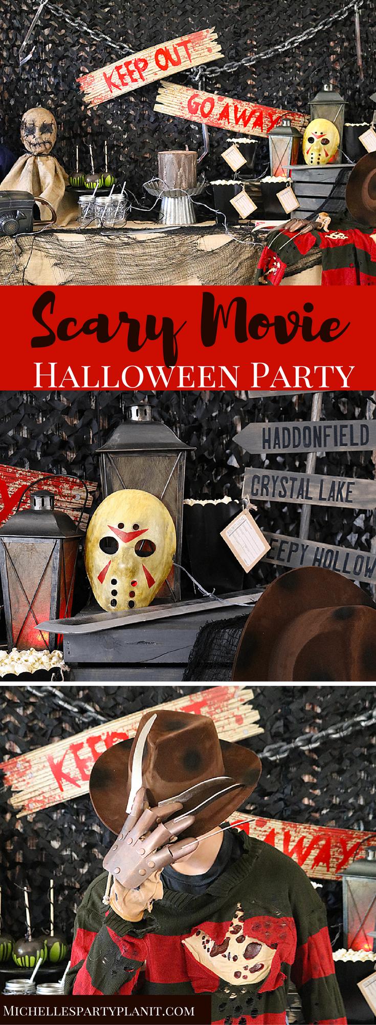Scary Movie Halloween Party Ideas Halloween theme
