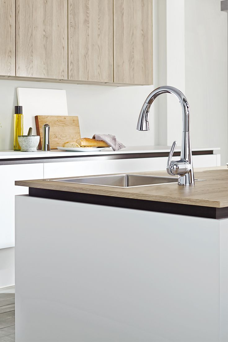 Selecting the right faucet for your kitchen or bath is
