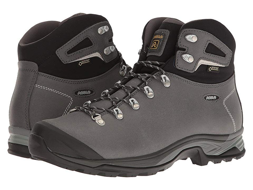 a04c4881e77 Asolo Thyrus GV (Grafite Scuro/Nero) Men's Shoes. The meaning of V ...