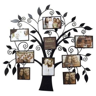 New View Metal Collage-Family Tree : Target Mobile | Family tree ...