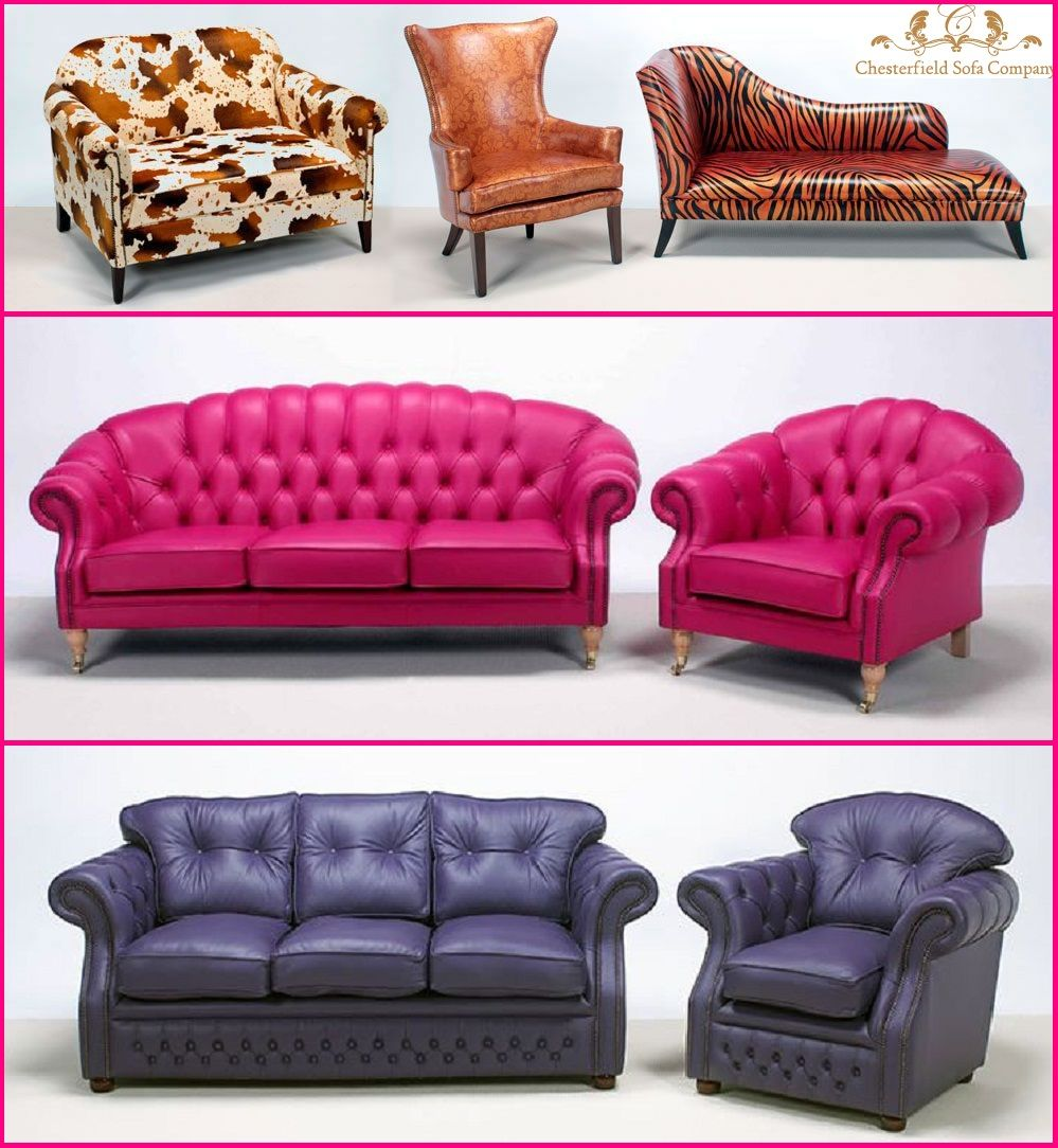 Leather Chesterfield Sofas Chesterfield sofa, Sofa