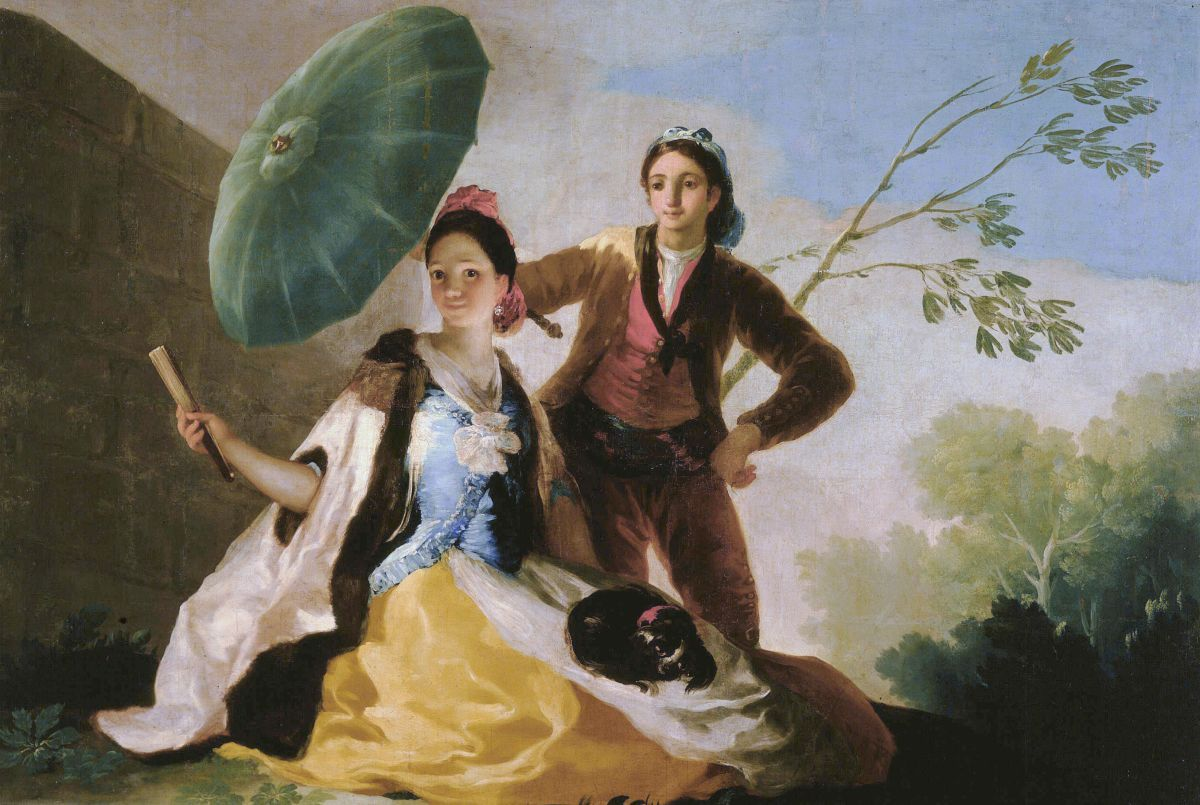 Франсиско Гойя. Зонтик Francisco goya paintings