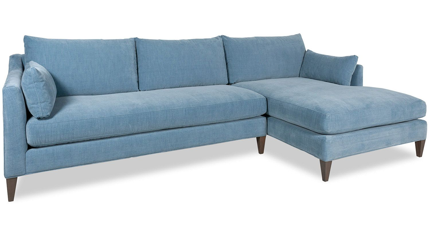 Circle Furniture Alewife Chaise Sectional Cambridge Collection