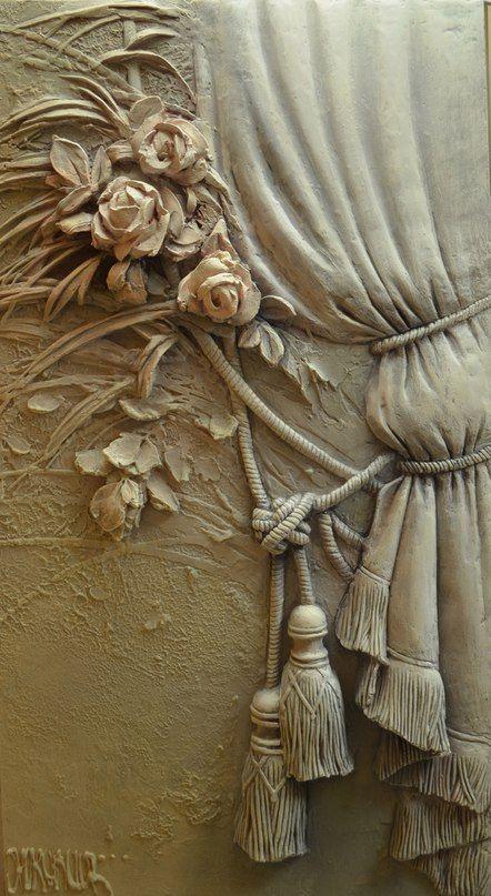 Диана Январева | barelef | Pinterest | Walls, Drywall and Plaster art