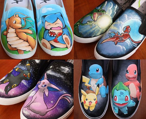 Pokemon ShoesHyruleCentral   Sneakers, Design your own