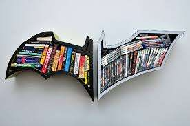 Batman Vs Superman Bookshelf