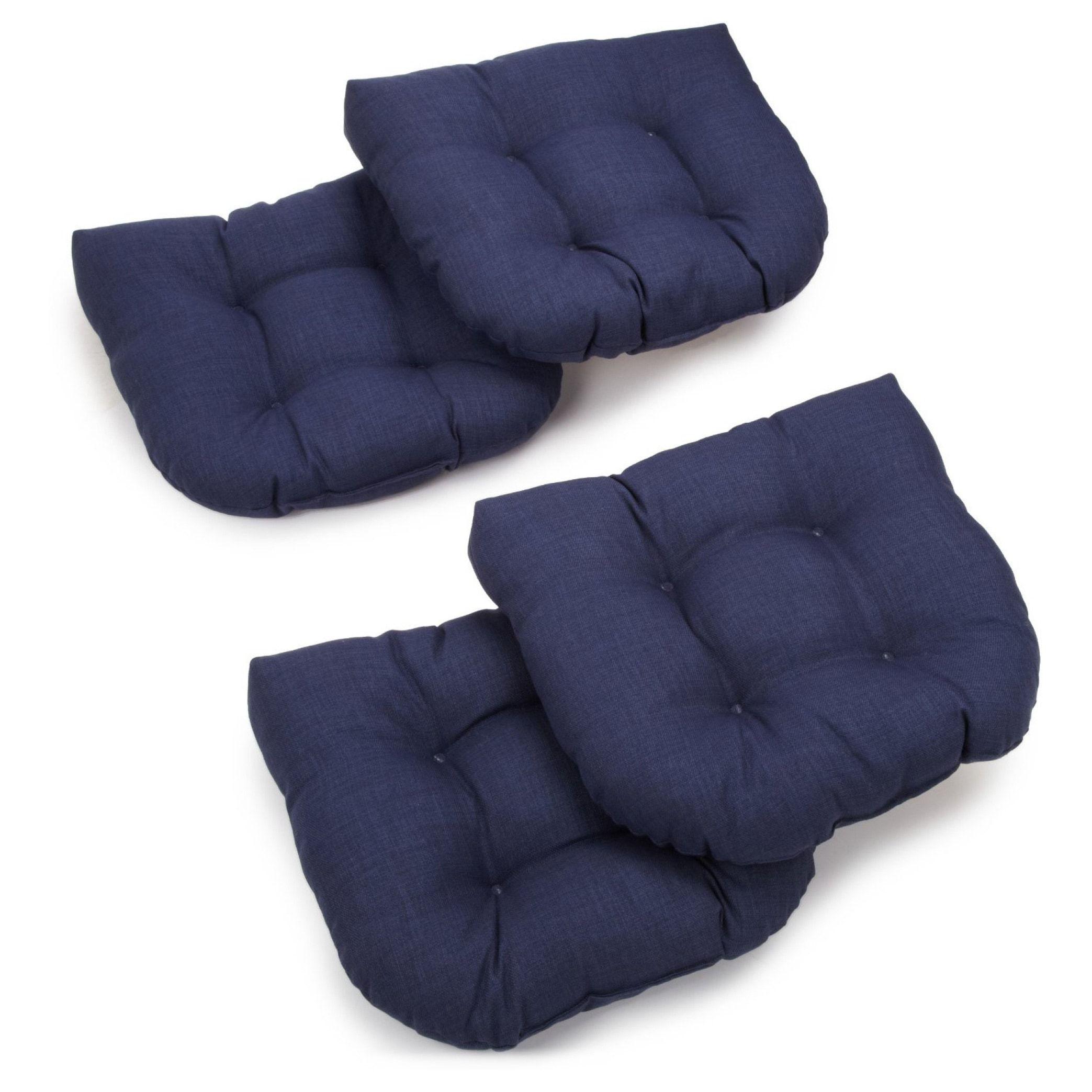 Blazing Needles 19inch Indoor/Outdoor Chair Cushion (Set