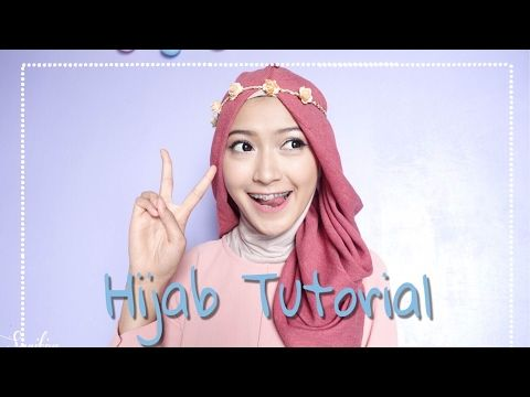 Simple Hijab Tutorial Quot 7style 1scarf Quot Saritiw