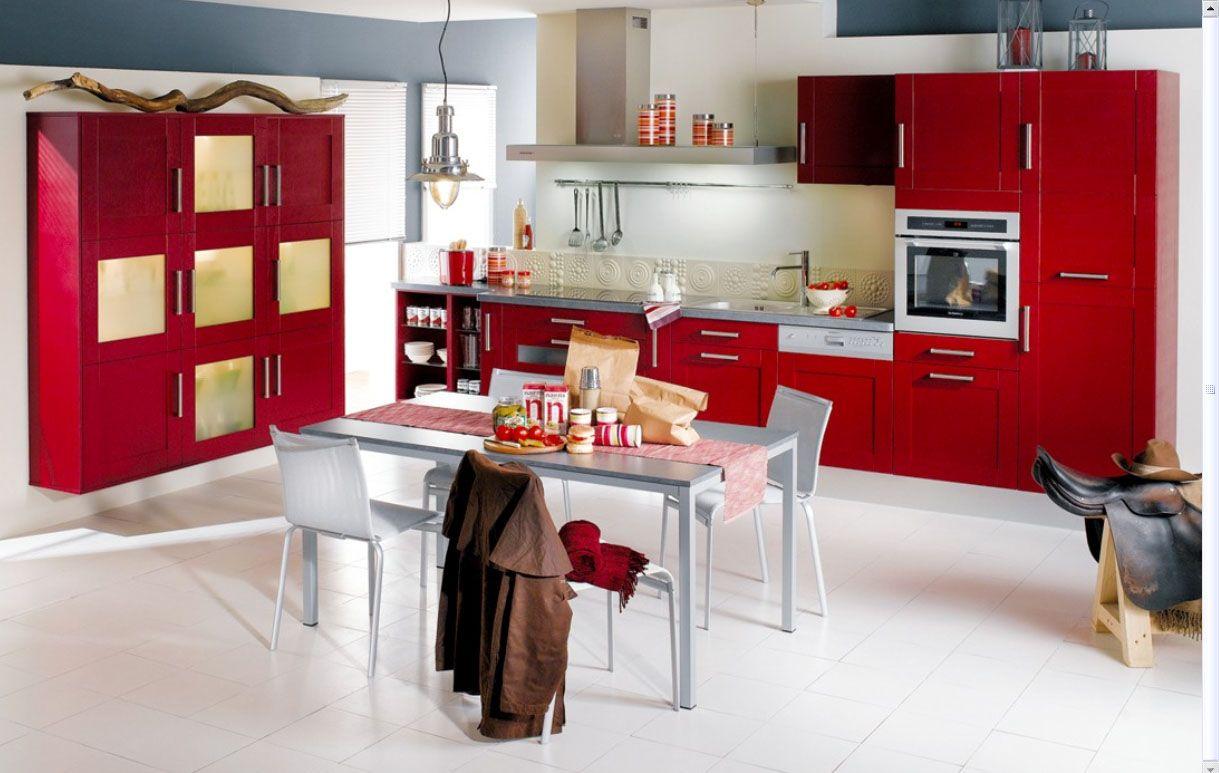 Küchenschränke blau  singular grau rot küche ideen fotos  viele menschen oft fragen