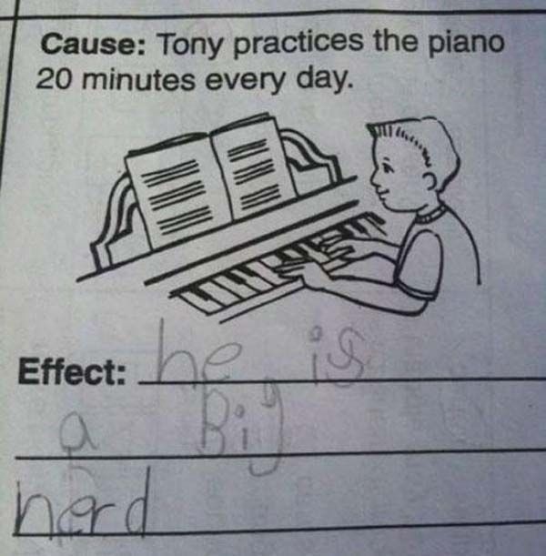 Kids And Their Hilarious Test Answers
