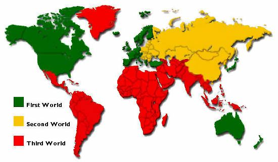 First second and third world map general knowledge pinterest first second and third world map gumiabroncs