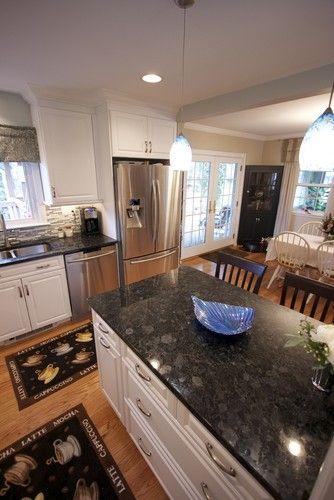 Volga Blue Granite Design And White Cabinet My Master Bath Choices