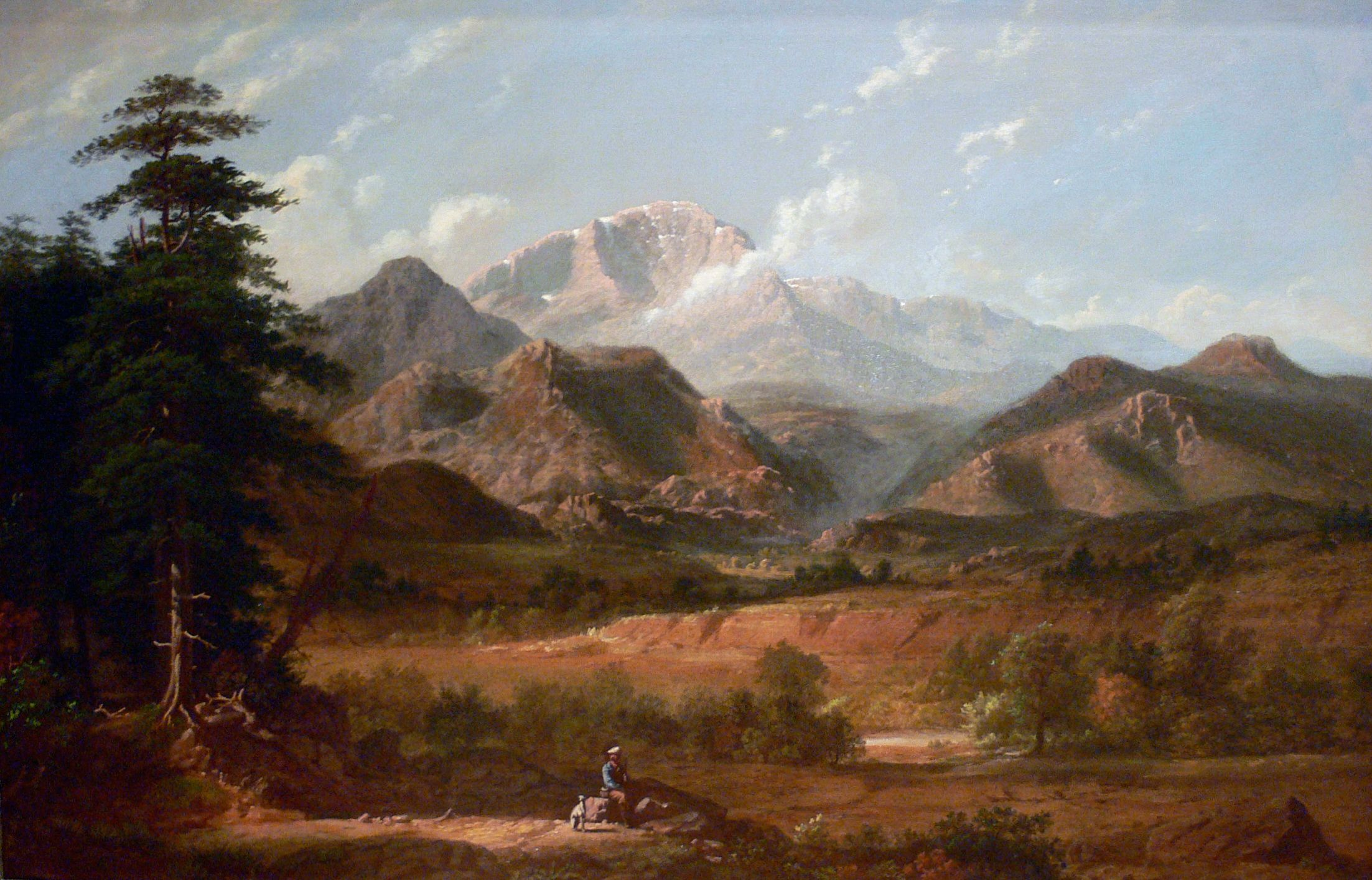 View of Pikes Peak - George Caleb Bingham
