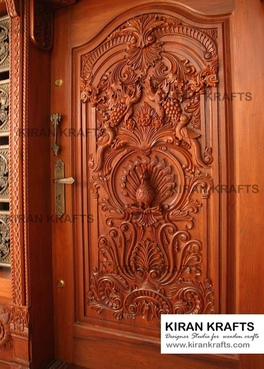 Carved Main Door By Kiran Enterprises Homify 1000 In 2020 Door Design Wood Front Door Design Wood Wooden Main Door Design