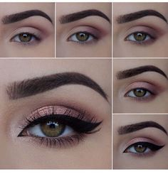 Rose Gold Eye Make Pictorial.