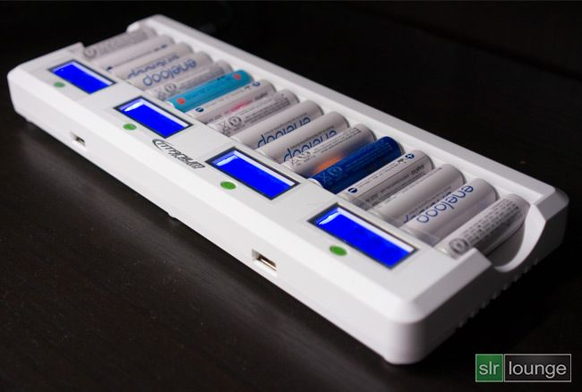 Best Charger Ever The Titanium 16 Bay Battery Charger Review Battery Charger Photo Gear Charger