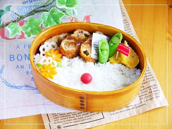 cutlet bento lunch box